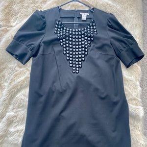 Black Beaded Kensie Dress